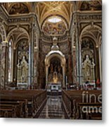 Homage To Pope Francis I Metal Print by David Bearden