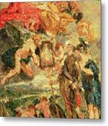 Homage To Rubens Metal Print