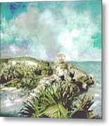 Homage To Vincent Had He Only Seen Cozumel Metal Print