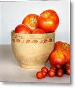 Home Grown Tomatoes II Metal Print