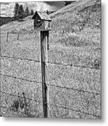 Home Home On The Range Metal Print