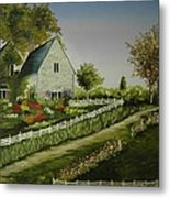 Home In The Country Metal Print