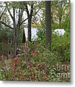 Home In The Woods Metal Print