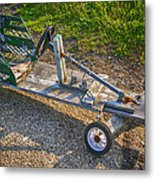 Home Made Go Kart Metal Print
