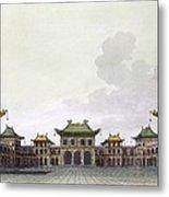 Home Of A Rich Individual In Peking Metal Print