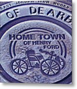 Home Of Henry Ford Metal Print