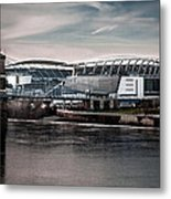 Home Of The Bengals Metal Print