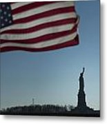 Home Of The Brave Metal Print by Mark Milar
