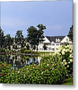 Home On The Golf Course Metal Print