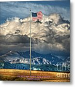 Home On The Range Metal Print by The Stone Age