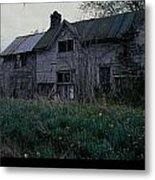 Home Place In Spring Metal Print