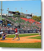 Home Run Or Struck Out Metal Print