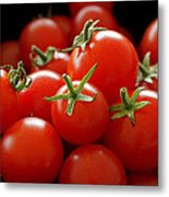 Homegrown Tomatoes Metal Print by Rona Black