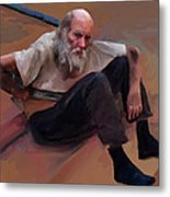 Homeless 3 - A Place To Rest Metal Print