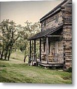 Homestead At Dusk Metal Print by Heather Applegate