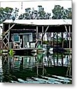 Homesteading On The Delta Metal Print