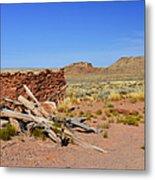 Homolovi Ruins State Park Arizona Metal Print by Christine Till