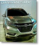 Honda Urban Suv Concept  2 Metal Print