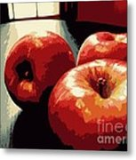 Honey Crisp Apples Metal Print