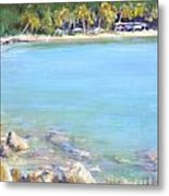Honey Moon Beach Metal Print