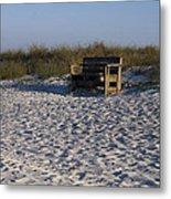 Honeymoon Island Beach Metal Print