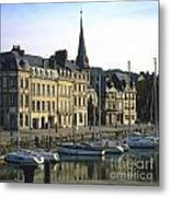 Honfleur Harbour. Calvados. Normandy. France. Europe Metal Print by Bernard Jaubert
