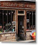 Honfleur Shop Front Metal Print
