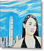 Hong Kong 2009 Metal Print
