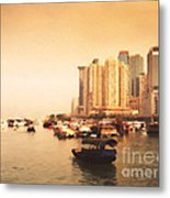 Hong Kong Harbour 02 Metal Print