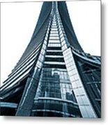 Hong Kong Icc Skyscraper Metal Print