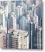 Hong Kong Suburbs Metal Print