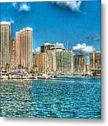 Honolulu Hi 2 Metal Print