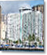 Honolulu Hi 3 Metal Print