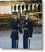 Honor Guard Inspection Metal Print by John Greim