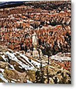 Hoodoos At Bryce Metal Print