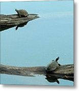 Hooked On You Metal Print