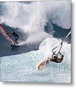 Ho'okipa Windsurfers Metal Print