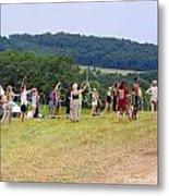 Hoop Camp Rw2k14 Metal Print