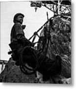 Hoover Dam Climber Metal Print