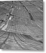 Hoover Dam Looking Down Metal Print