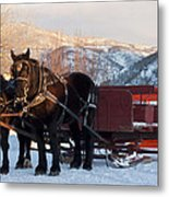 Hop On   We Are Ready Metal Print