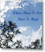 Hope Metal Print by Aimee L Maher Photography and Art Visit ALMGallerydotcom
