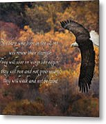 Hope In The Lord Metal Print