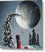 Hope Is On Her Way By Shawna Erback Metal Print by Shawna Erback