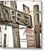 Hope Street Metal Print