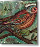 Hope Will Fly Metal Print