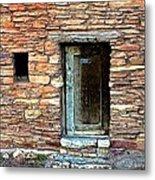 Hopi House Back Entrance Metal Print