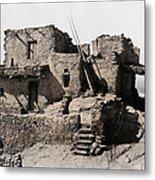 Hopi Hilltop Indian Dwelling 1920 Metal Print