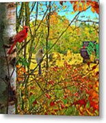 Hoping For Leftovers Metal Print