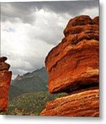 Hoping For Rain - Garden Of The Gods Colorado Metal Print